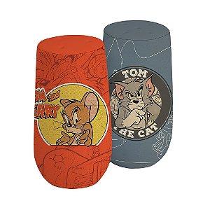 Conjunto de Saleiro e Pimenteiro de Cerâmica Hanna Barbera Tom and Jerry - 2 Peças
