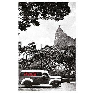Pano de Prato de Algodão Coca-Cola Rio de Janeiro - 70 x 45 cm
