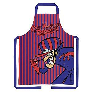 Avental de Algodão Hanna Barbera Corrida Maluca Dick Vigarista - 80 cm