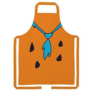 Avental de Algodão Hanna Barbera Os Flintstones Fred Body - 80 cm