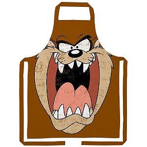 Avental de Algodão Looney Tunes Taz - 80 cm