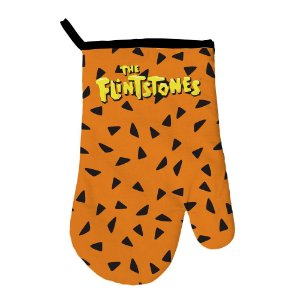 Luva para Cozinha de Algodão Hanna Barbera Os Flintstones - 29 cm