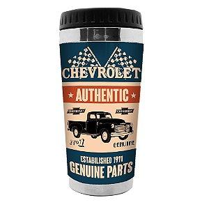 Copo Térmico de Plástico GM Vintage Authentic Genuine Parts - 470 ml