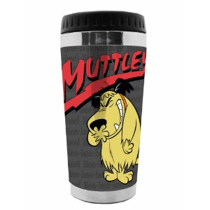 Copo Térmico de Plástico Hanna Barbera Corrida Maluca Muttley - 470 ml
