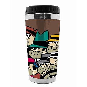 Copo Térmico de Plástico Hanna Barbera Corrida Maluca Quadrilha da Morte - 470 ml