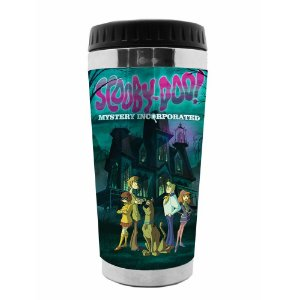 Copo Térmico de Plástico Hanna Barbera Scooby-Doo in the Haunted House - 470 ml