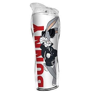 Copo Térmico de Plástico Silhouette Looney Tunes Pernalonga Bunny Charming - 400 ml