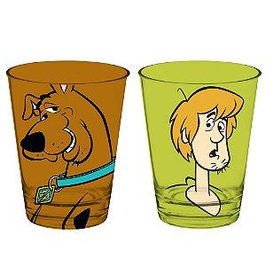 Conjunto de Copos de Vidro Hanna Barbera Scooby-Doo e Salsicha - 2 Peças