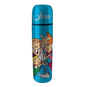 Garrafa Térmica de Aço Inox Hanna Barbera Os Jetsons Família - 500 ml