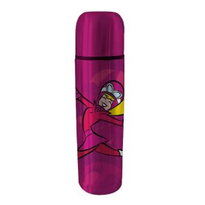 Garrafa Térmica de Aço Inox Hanna Barbera Corrida Maluca Penélope Charmosa - 500 ml