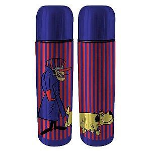 Garrafa Térmica de Aço Inox Hanna Barbera Corrida Maluca Dick Vigarista e Muttley - 500 ml