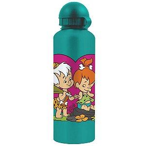 Squeeze de Alumínio Hanna Barbera Os Flintstones Bambam e Pedrita - 500 ml