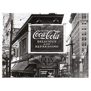 Tábua de Cozinha de Vidro Coca-Cola Outdoor Delicious and Refreshing - 20 x 30 cm