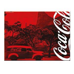 Tábua de Cozinha de Vidro Coca-Cola Rio de Janeiro - 20 x 30 cm
