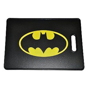 Tábua de Cozinha de Plástico DC Comics Batman Logo Amarelo / Preto - 30 x 44 cm