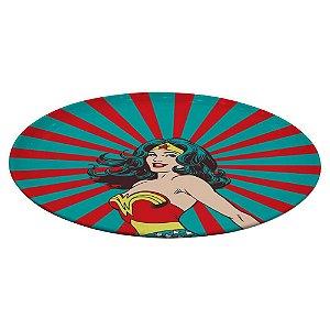 Prato Decorativo Giratório de Melamina DC Comics Wonder Woman - 39 cm