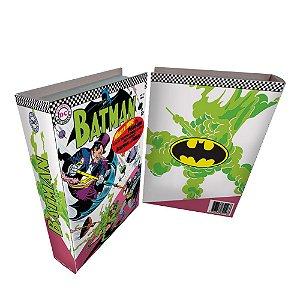 Caixa Livro Decorativa de Madeira DC Comics Batman - 25 cm