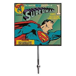 Cabideiro de Vidro e Metal DC Comics Superman - 1 Gancho