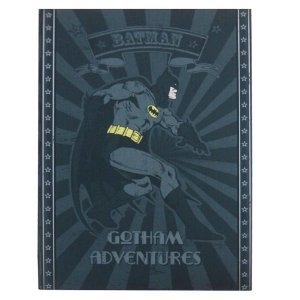 Cofre Livro Decorativo de Metal DC Comics Batman - 22 cm