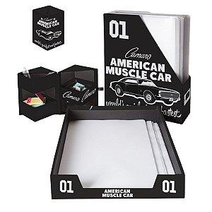 Conjunto para Escritório GM Vintage American Muscle Car - 3 Peças