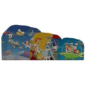 Conjunto de Maletas de Papelão Hanna Barbera Os Jetsons - 3 Peças