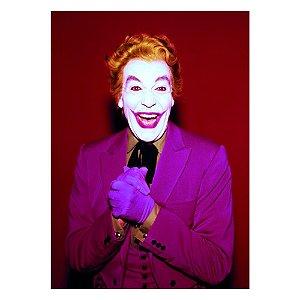 Quadro / Tela Retangular DC Comics Joker Laughing Character Movie - 50 x 70 cm