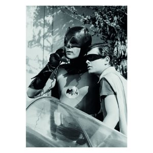 Quadro / Tela Retangular DC Comics Batman and Robin Alert Characters Movie - 50 x 70 cm