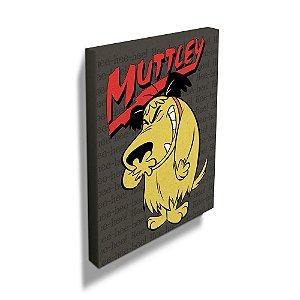 Quadro / Tela Retangular Hanna Barbera Corrida Maluca Muttley - 50 x 40 cm