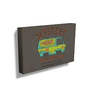 Quadro / Tela Retangular Hanna Barbera Scooby-Doo Mystery Machine Car Service - 50 x 70 cm