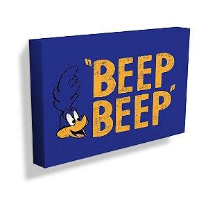 Quadro / Tela Retangular Looney Tunes Papa-Léguas BEEP BEEP - 30 x 50 cm