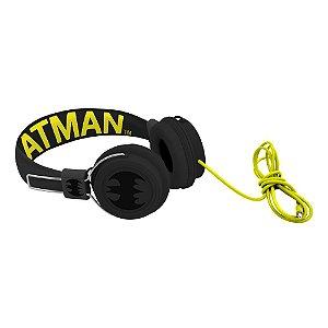 Fone de Ouvido com fio DC Comics Batman Amarelo / Preto