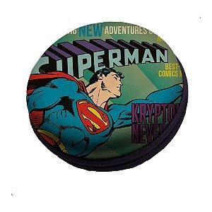 Caixa de Som Redonda DC Comics Superman - 8 cm