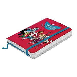 Caderneta de Anotação com Elástico 80 Folhas Hanna Barbera Os Jetsons - 21 x 14 cm