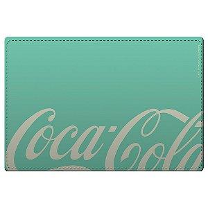 Conjunto de Jogo Americano e Porta Copos Coca-Cola Contemporary Green / White - 4 Peças