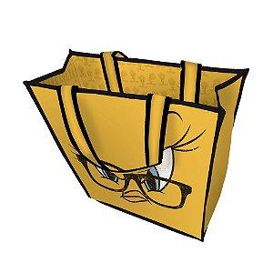 Bolsa / Sacola de Plástico Looney Tunes Piu-Piu - 40 cm