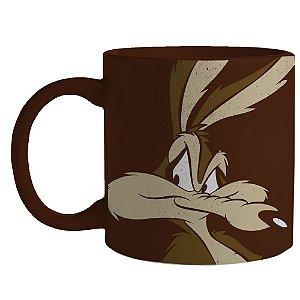 Caneca de Porcelana Looney Tunes Coiote - 300 ml