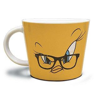 Caneca Jumbo de Porcelana Looney Tunes Piu-Piu - 320 ml
