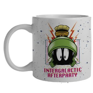 Caneca de Porcelana Looney Tunes Intergalactic Afterparty - 300 ml