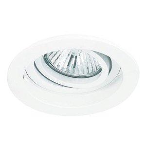 Spot Embutido Redondo Conecta 1 x Mini Dicróica Branco Bella Iluminação - 9,2 cm