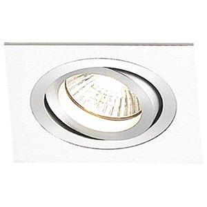 Spot Embutido Quadrado Ecco 1 x Dicróica Branco Bella Iluminação - 9,2 cm