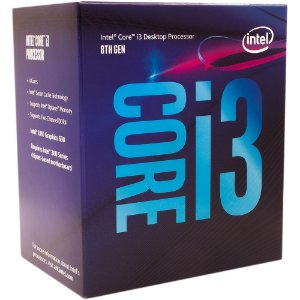 Processador Intel® Core™ i3-8100 Coffee Lake 3.6GHz BX80684I38100