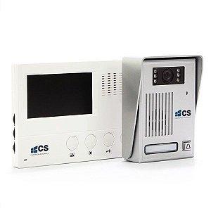 Vídeo Porteiro com Tela LCD Colorida e Visão Noturna CS VP03 220V