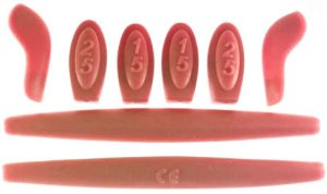 e3d9315a2 Kit de Borracha Vermelho Para - Double X ...