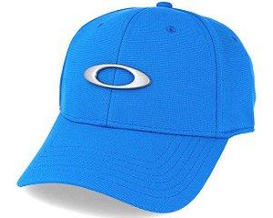 Boné Oakley Tincan - Azul Royal - S M - Médio d76b909a29f