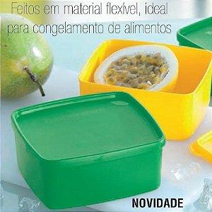 Tupperware Jeitosinho Pimentão Verde 500ml Freezer