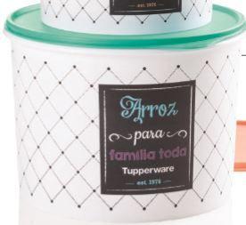 Tupperware Caixa Arroz Bistrô 5 kg
