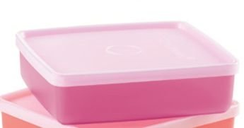 Tupperware Refri Box Fuchsia 400 ml