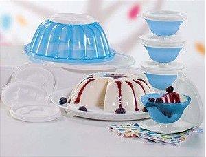 Tupperware Kit Mágica Tacinhas Azul Serenity