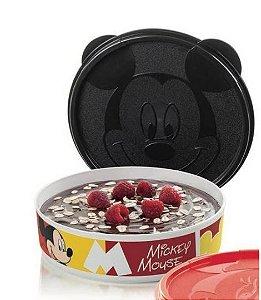 Tupperware Tupper Pratinho Mickey 500 ml Tampa Preta