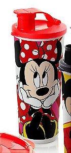 Tupperware Copo com Bico Minnie 470 ml Tampa Vermelha